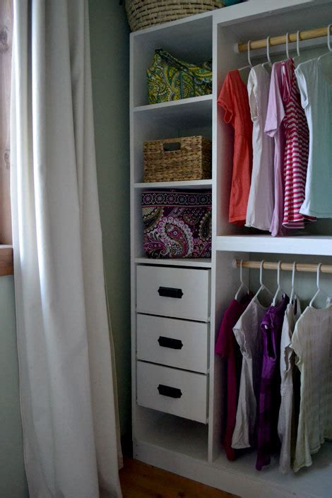 How To Build Closet Drawers by White Master Closet System Drawers Diy Projects