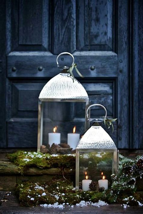 diy christmas lanterns ideas  brighten   home