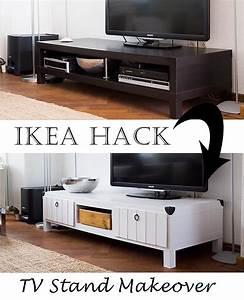 Table Tv Ikea : ikea furniture project tv stand makeover ~ Teatrodelosmanantiales.com Idées de Décoration