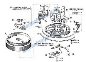 Johnson Magneto Group Parts For 1963 5 5hp Cd