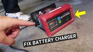 Harbor Freight Tools Battery Charger Not Working  How To