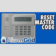 Honeywell Vista Resetting Or Changing The Master Code Youtube