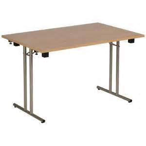 table pliante pour collectivit 233 plateau m 233 lamin 233 blanc table de lit
