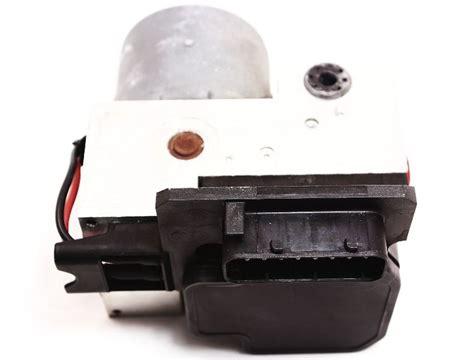 repair anti lock braking 1990 audi v8 electronic valve timing anti lock brake abs pump module audi a8 s8 allroad vw passat b5 genuine carparts4sale inc