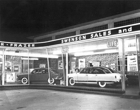 L Dealers by Photo 1950 1 Redwood City California Swenson Kaiser