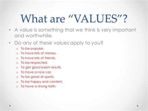 List Of Moral Values In Life Writefiction581webfc2com