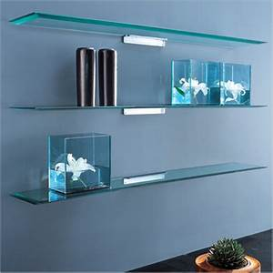 The Popular Types And Options Available In Glass Shelf