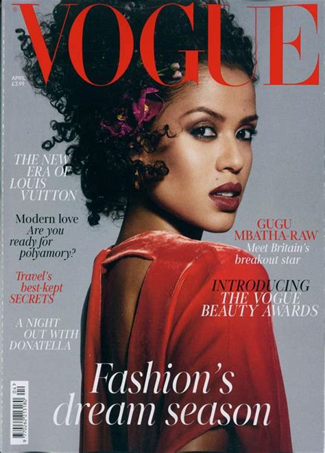 latest vogue cover vogue magazine subscription buy at newsstand co uk