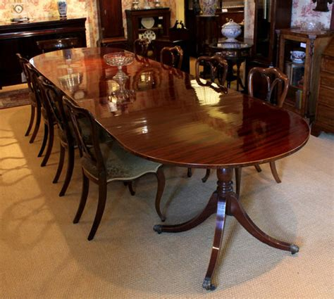 antiques atlas 12 mahogany dining table