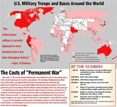 worldwide network   military bases  global
