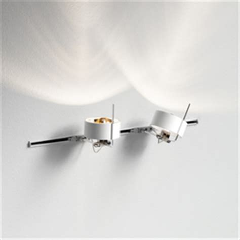 high end track lighting wall mounted lights on architonic