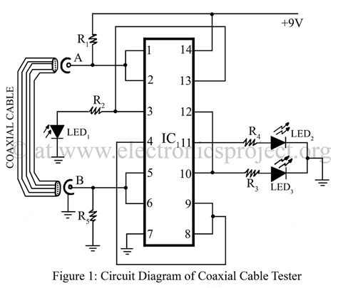 Axial Cable Tester Electronics Project