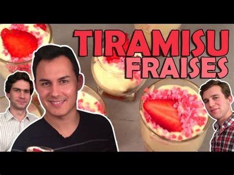 tiramisu hervé cuisine recette de tiramisu à la fraise par hervé cuisine