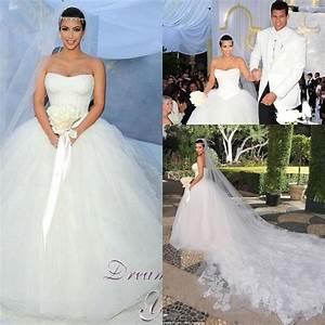 image gallery kim kardashian wedding dress With kim wedding dress