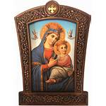 Cross Frame Mary Wooden Carrying Christ Bookstore