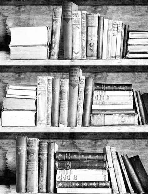books black and white wallpaper bookshelf wallpaper photocopy bookshelf wallpaper
