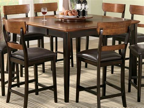 bar style kitchen table kitchen captivating counter height tables ideas rustic