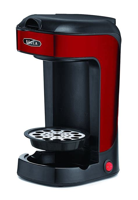 Advanced thermal flavor extraction technology gives you delicious coffee every time. Bella One Scoop One Cup Coffee Maker Coffee and TEA, Coffee Tools, Coffee Accessories ...