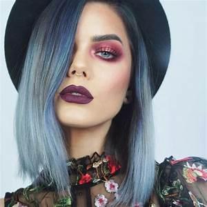 grey purple hair | Tumblr