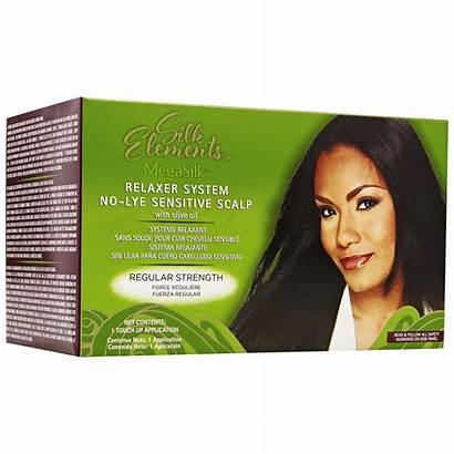 Relaxer Lye Elements Olive Oil Silk Regular