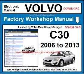 free online auto service manuals 2010 volvo s40 parental controls volvo c30 workshop repair manual