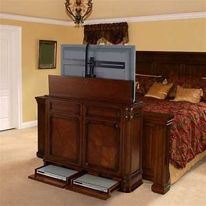 TV Lift Cabinets in Homes - Traditional - Bedroom - miami