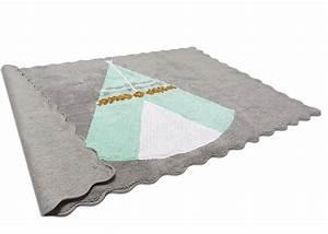 Tapis Rose Et Gris : tapis d coratif teepee tipi indien chez ksl living ~ Dailycaller-alerts.com Idées de Décoration