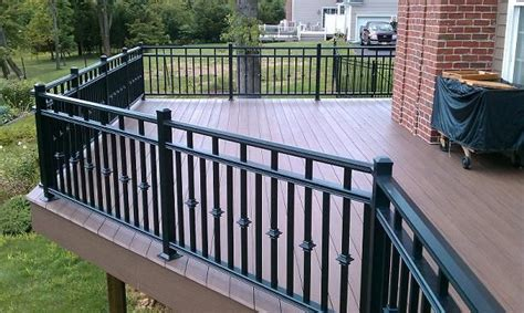 steel deck handrails 25 best images about aluminum afco rail on