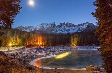 Mercatino di Natale Lago di Carezza Trentino Alto Adige