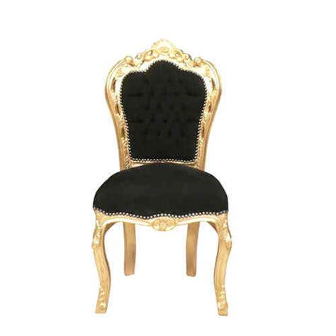 chaise dorée chaise baroque achetez une chaise baroque pas chère
