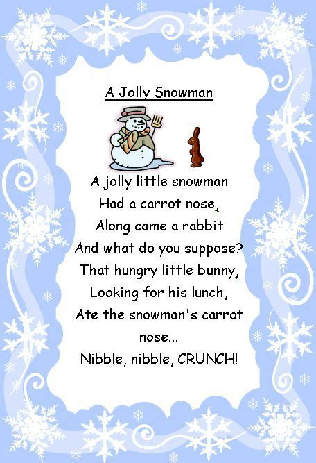 best 25 snowman fingerplays ideas on winter 860 | 9393ff10f73cd077f2ad91c452019e0e preschool winter winter craft