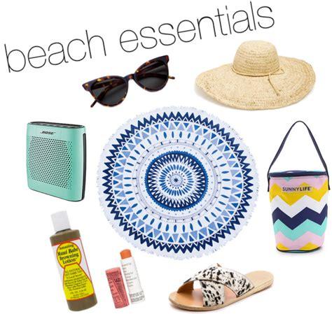 Beach Essentials Just Peachy Blog