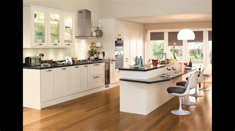Tewkesbury Antique White  Contemporary Kitchen From