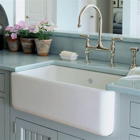 Drop In Bathroom Sink Vs Undermount by Farmhouse Kitchen Sink Choices Fireclay Vs Enamel Vs
