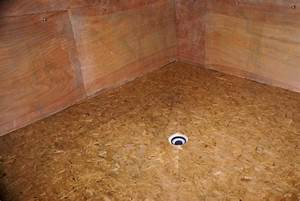realiser une douche a l39italienne sur support bois youtube With parquet en ceramique