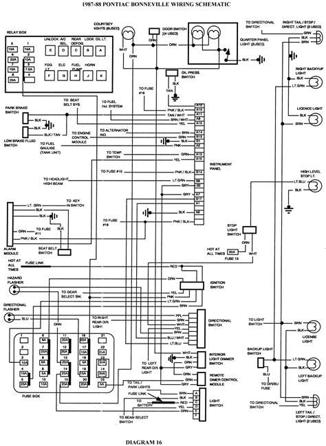 2003 Pontiac Sunfire Wiring Schematic by Wrg 9829 2003 Aztek Fuse Box