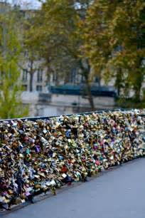 Love Lock Bridge Paris France