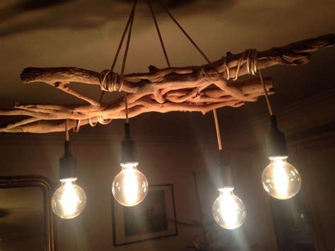 lustre en bois flott 233
