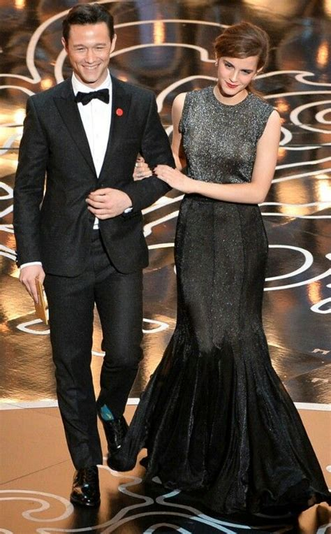 Joseph Gordon Levitt Emma Watson Oscar Power Couple
