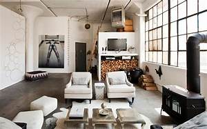 loft de ville a new york au design interieur inspire par With decoration interieur style industriel