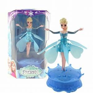 Frozen Anna Elsa Fairy Flying Toy Dolls Muñeca Hada
