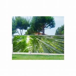 Brise Vue Décoratif : brise vue imprim d co bambous art d co stickers ~ Preciouscoupons.com Idées de Décoration