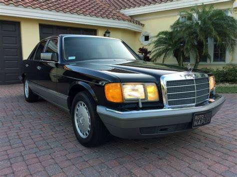 old car owners manuals 1988 mercedes benz s class transmission control 1988 mercedes benz 300se sedan 1 owner 85k miles no reserve w126 se sel 420 560 classic