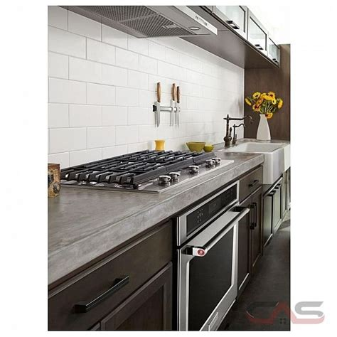 kitchenaid kcgsess cooktop gas cooktop    burners stainless steel colour