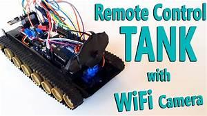 Arduino Remote Control Tank With Wifi Camera
