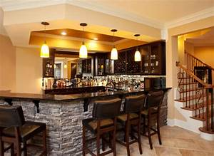 Inverness Residence Bar - Traditional - Basement - Atlanta