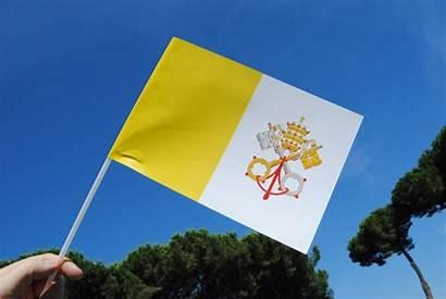 Flag Holy Papal Vatican Catholic Church Culture