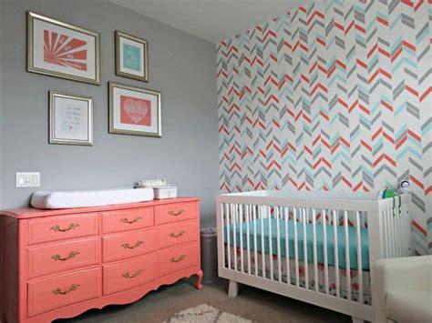 chambre b b grise et bleu turquoise et gris en 30 idées de peinture et décoration