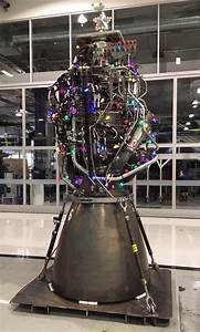 Spacex U0026 39 S  U0026quot Christmas Tree U0026quot  Is A Raptor Engine For The Holidays