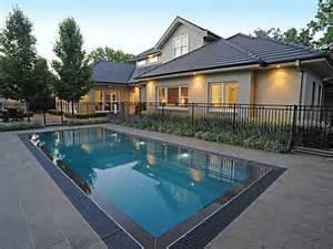 Inground Pool Fence Ideas
